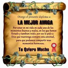 Gracias mi Amiga Querida