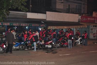 Future Club offroad tại KDL Bà Rá 1