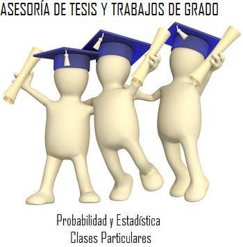 ASESORIA DE TESIS Y TRABAJOS DE GRADO
