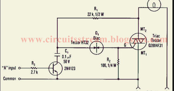 Tactful Triac Controller Circuit Diagram