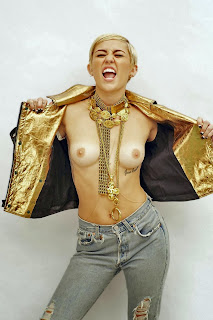Miley Cyrus Topless Photoshoot
