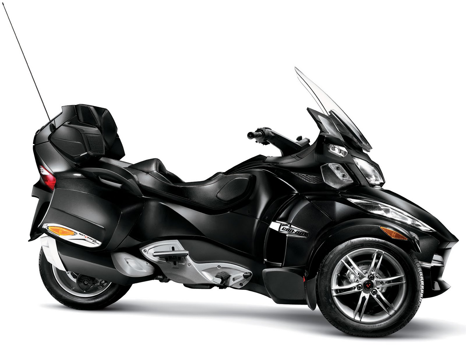 motorcycle pictures can am spyder rt s 2011. Black Bedroom Furniture Sets. Home Design Ideas