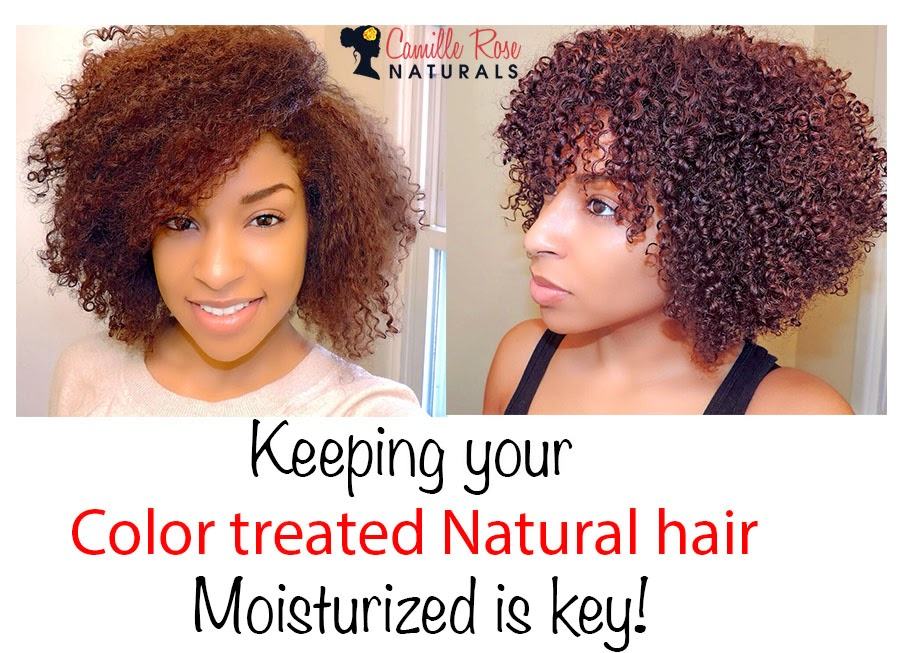 : How To: Maintaining Moisture In Naturally Curly Color Treated Hair