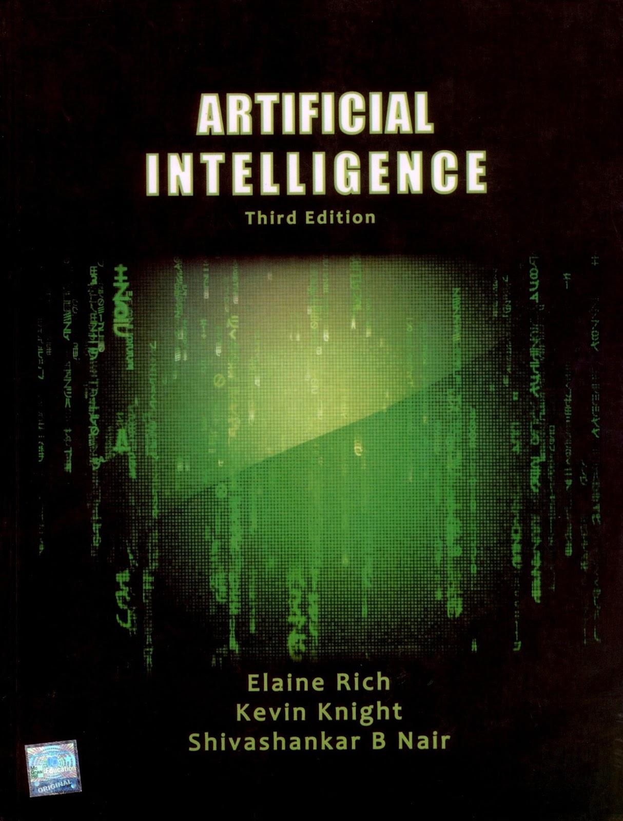 Artificial intelligent pdf
