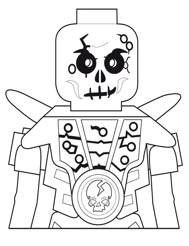 robot skeleton coloring pages - photo#8