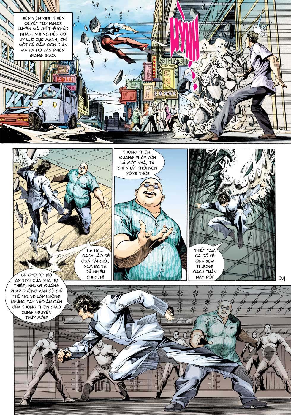 Tân Tác Long Hổ Môn chap 343 - Trang 24