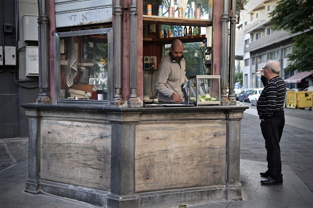 Costas kiosk for seltzer and syrup, Catania