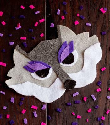 Makers + Shakers Meet Confetti Pop mask
