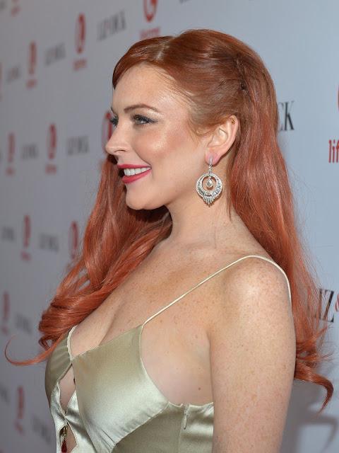 "Lindsay Lohan – ""Liz & Dick"" Premiere in Beverly Hills"