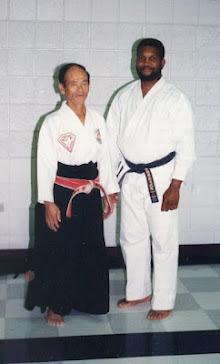 Seikichi Odo Hanshi and Jackson Sensei