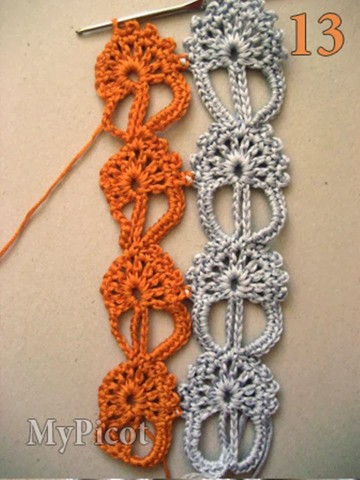 Crochet Stitches To Try : Crochet Patterns to Try: Crochet Motifs Patterns to Combine However ...