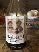 Balsamic vinegar made with grape must