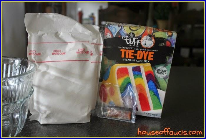 Dye Cake Duff Tie Dye Cake Mix Kit