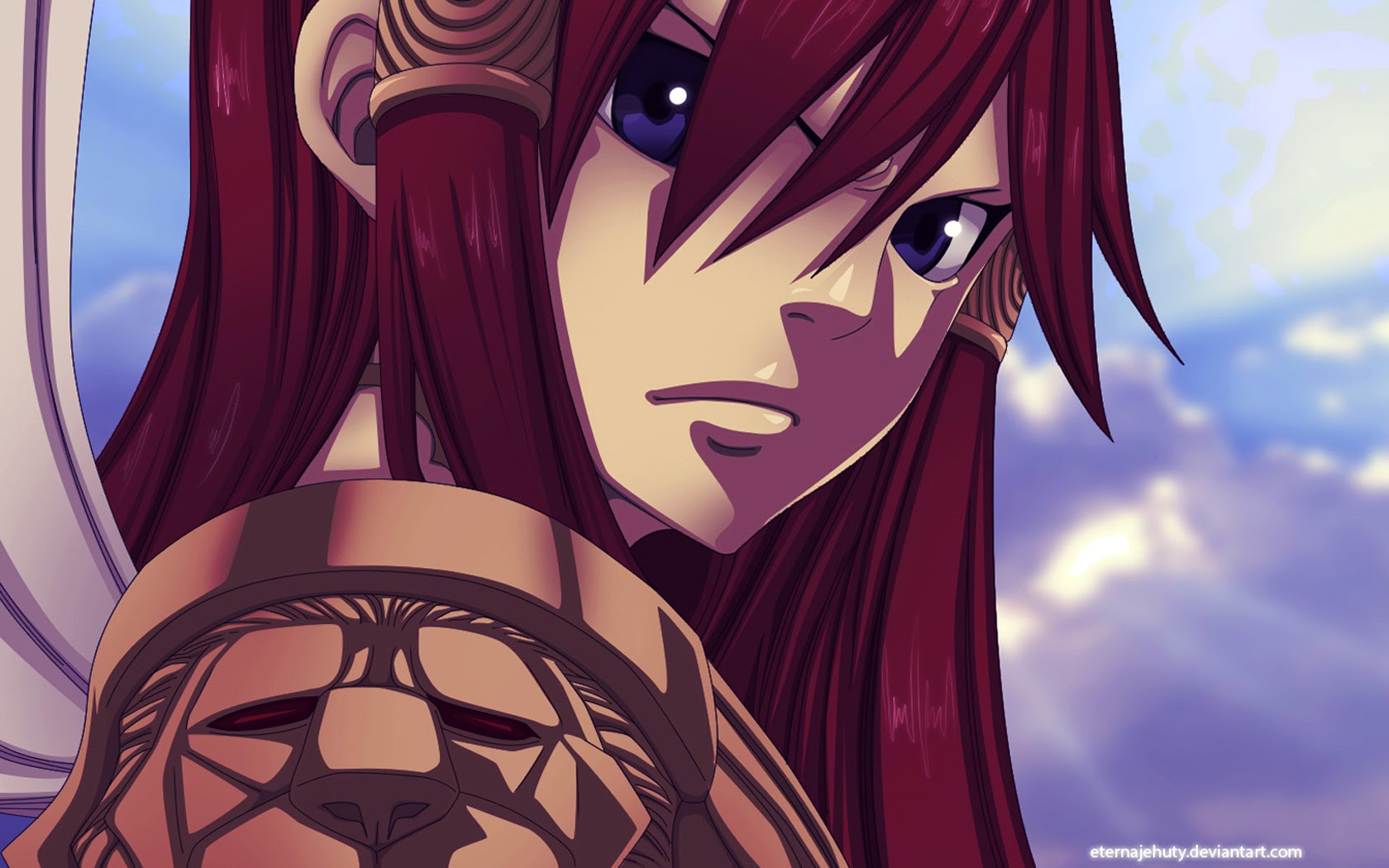 gallery for erza scarlet anime wallpaper