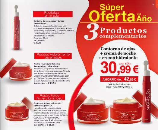 Oferta Dermatology 3 por 30.99 euros c-1 2015