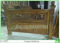 Tempat Tidur Dipan Klender Cirebon Mahkota
