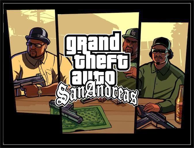 Grand Theft Auto San Andreas APK + DATA