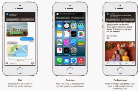 Inilah fitur baru dari iOS 8, foto dan video - Desain baru dan animasi