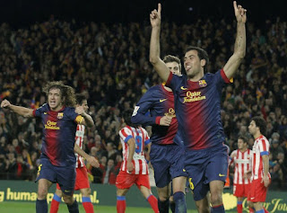 Barcelona vs Atletico Madrid 2013