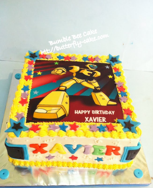 Butterfly Cake Transformer Cake Bumble Bee
