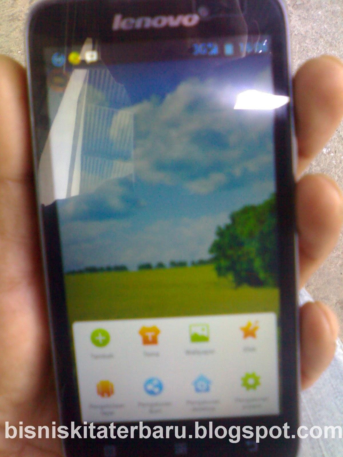 Harga dan Spesifikasi Lenovo A316i - Dual GSM - 4 GB - Hitam