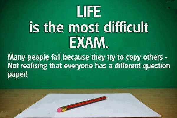 Life Is an Exam Images