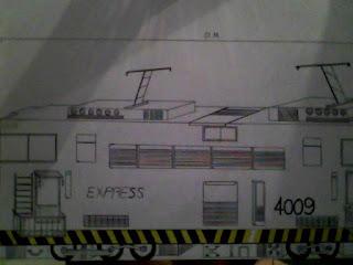 Trem - 1 (desenho)