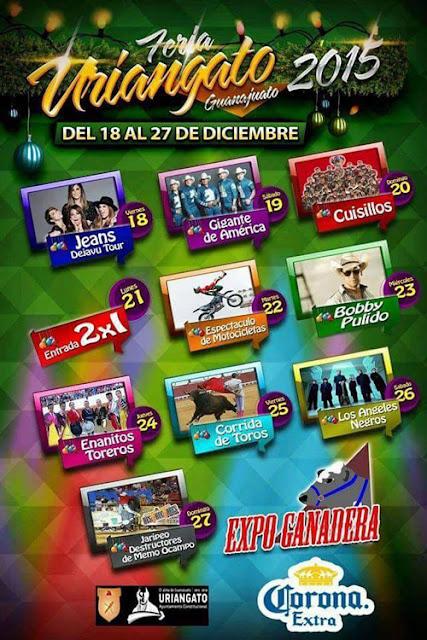 expo feria Uriangato 2015