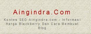 aas Aingindra.com   Informasi Harga Blackberry Dan Cara Membuat Blog