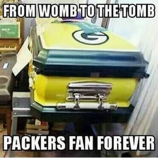 from womb to the tomb packers fan forever