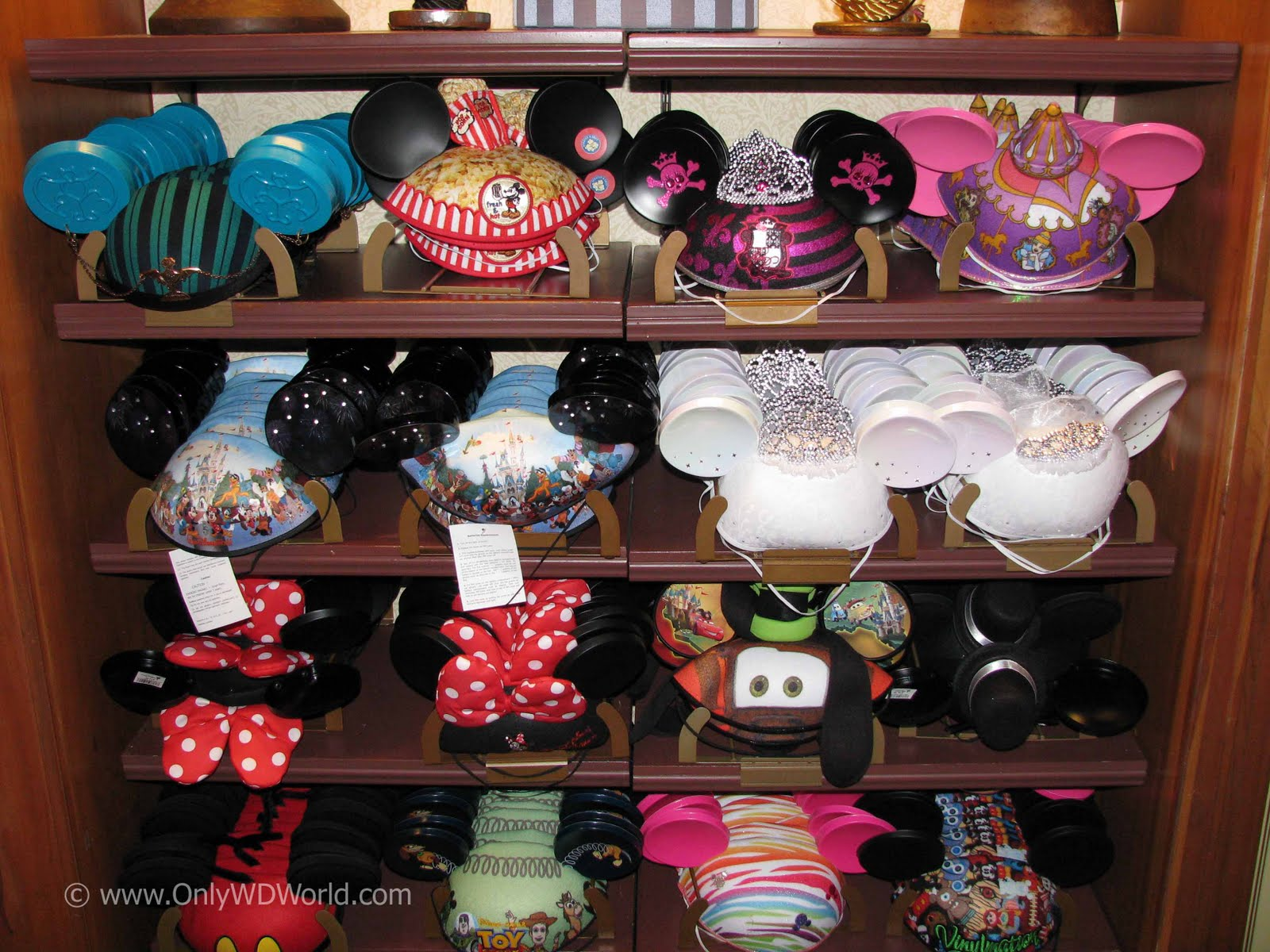 The Mickey Mouse Ear Hats Have