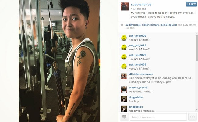 Charice Show her Slim Figure on Instagram