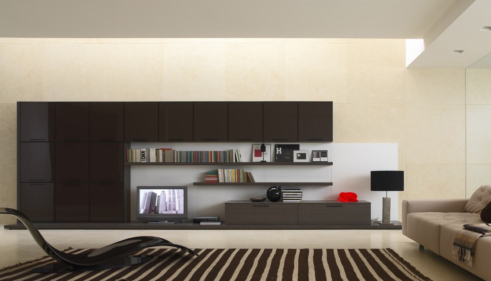 Posted 11th January 2013 by MG khan. Tv Lounge Interior Design Ideas   Awesome Interior