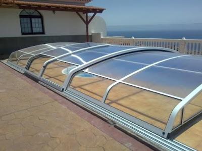Cerramientos de piscinas en viviendas particulares for Piscinas particulares