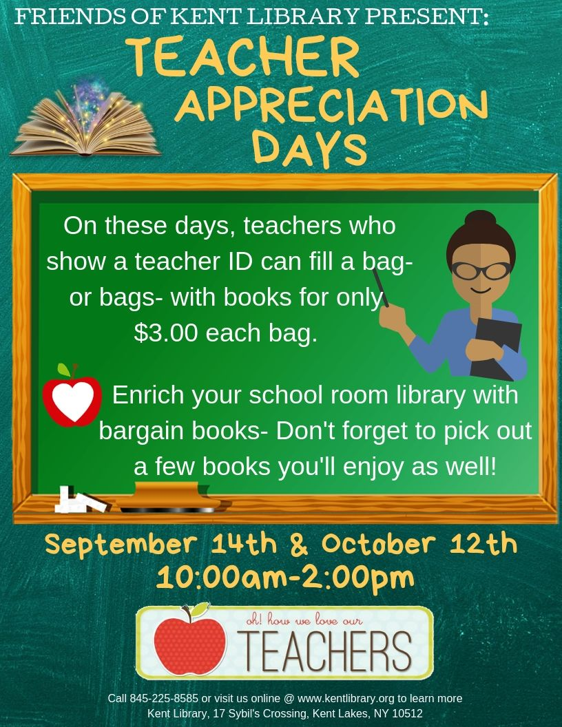 Teacher Appreciation Days!