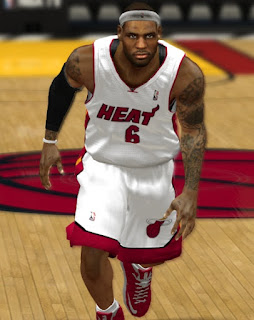 NBA 2K13 LeBron James Face & Headband Update