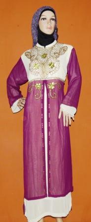 Gamis Payet Surabaya Gp062 Grosir Baju Muslim Murah