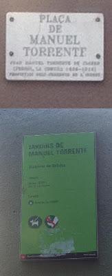 Manuel Torrente plaza jardines