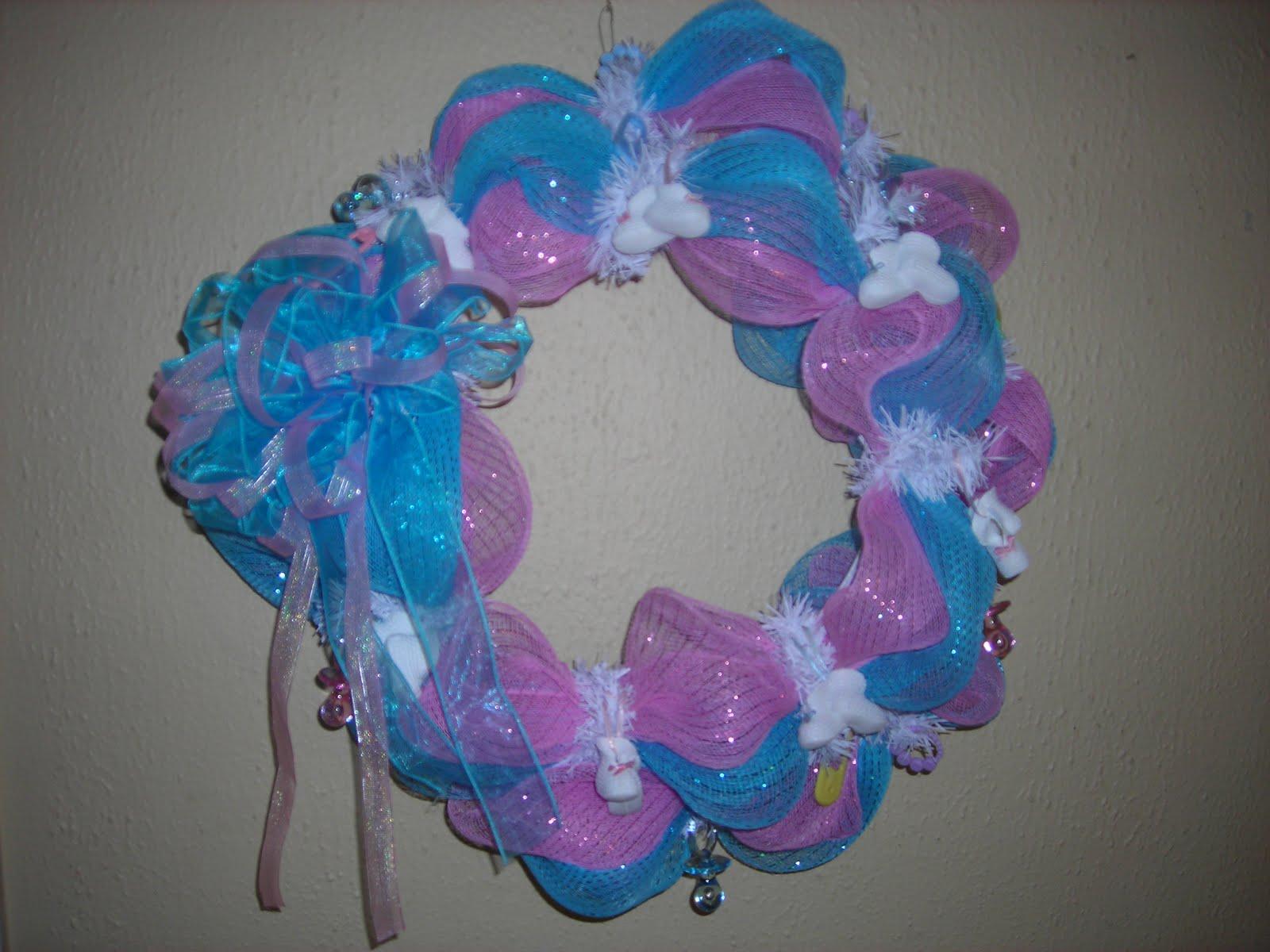 wreaths with love baby shower wreath