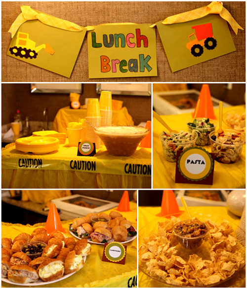 Construction Birthday Party Food Ideas: There Are Only Two Ways To Live Your Life.: Construction