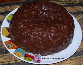 Rica tarta de c...