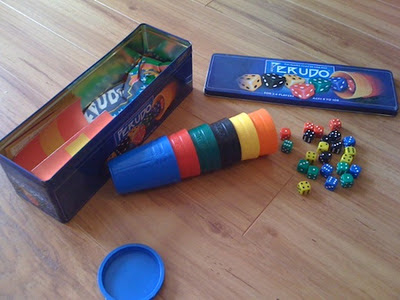 Perudo - Liar's Dice, cleanup after play
