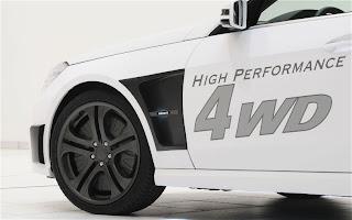 2011 Brabus Mercedes-Benz Hybrid Wheels