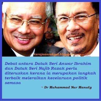 Debat Anwar-Najib