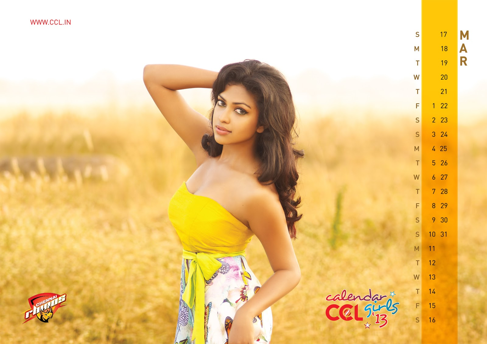 Download CCL Calendar 2013 Wallpapers - Telugu Movie Images
