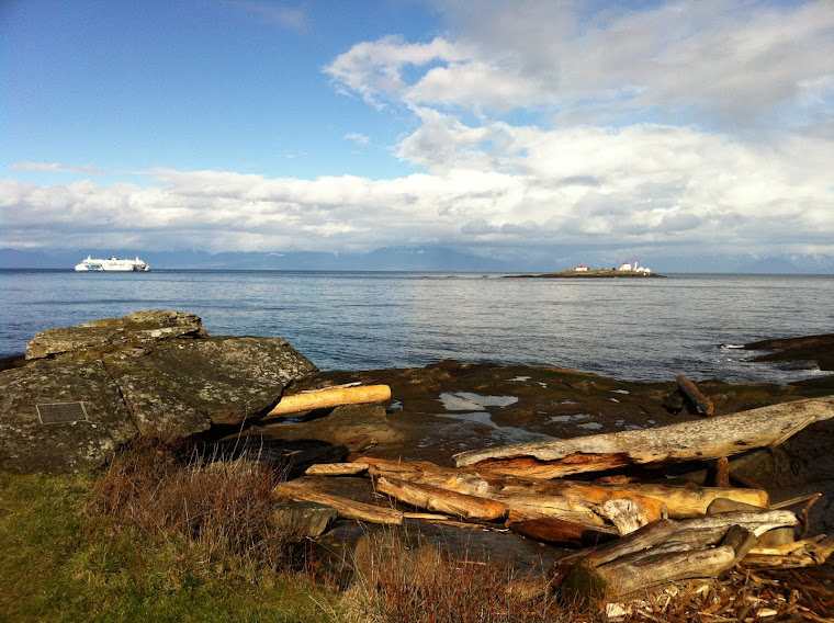 Orlebar Point on Gabriola Island, BC