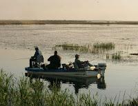 Men Lake Fishing