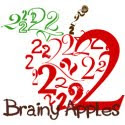 2 Brainy Apples