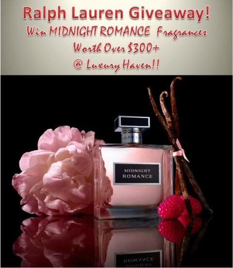 ralph lauren fragrance midnight romance giveaway