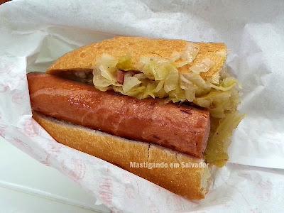 Box do Alemão: Sanduíche Alemão com Chucrute